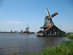 Windmills on the Zaan River, Netherlands (Bogdan Migulski) Tags: ranch holland history netherlands dutch museum rural europe european natural farm traditional agrarian rustic culture farmland historical pastoral simple openairmuseum idyllic sylvan agricultural bucolic preservation oldfashioned noordholland provincial backwoods outland countrified rustical unsophisticated georgic agronomic europaarcadian