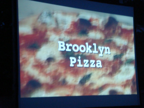 NYC Film Food Fest, Pizza Night
