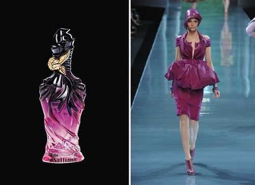 john galliano perfume dior couture 2009