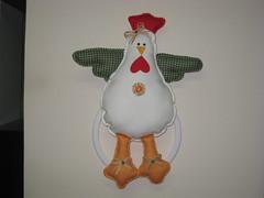 porta pano de prato (dinorahramos) Tags: galinha patchcolagem portapanoprato