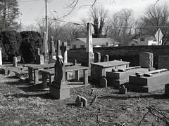 Grace Episcopal Church Yard (Art_Reid) Tags: virginia berryville epitaph crypt grayscale monochrome granite gravestone memorial monument tombstone graveyard grave churchyard graceepiscopalchurch