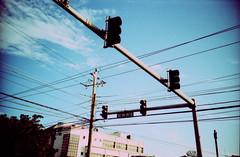 half way tree road (oscar_tramor) Tags: road light man tree film analog way lomo lca xpro lomography energy cross traffic ct kingston jamaica half reggae agfa processed ampel strom yah ganja lomografie jamaika precisa waa gwaan oscartramorphotography