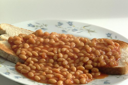 baked beans courtesy of freefoto
