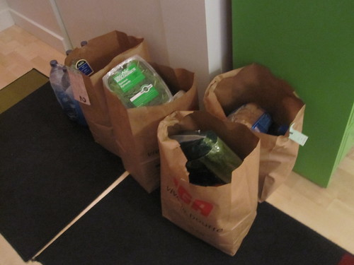 Groceries - $121 with delivery charge and tip