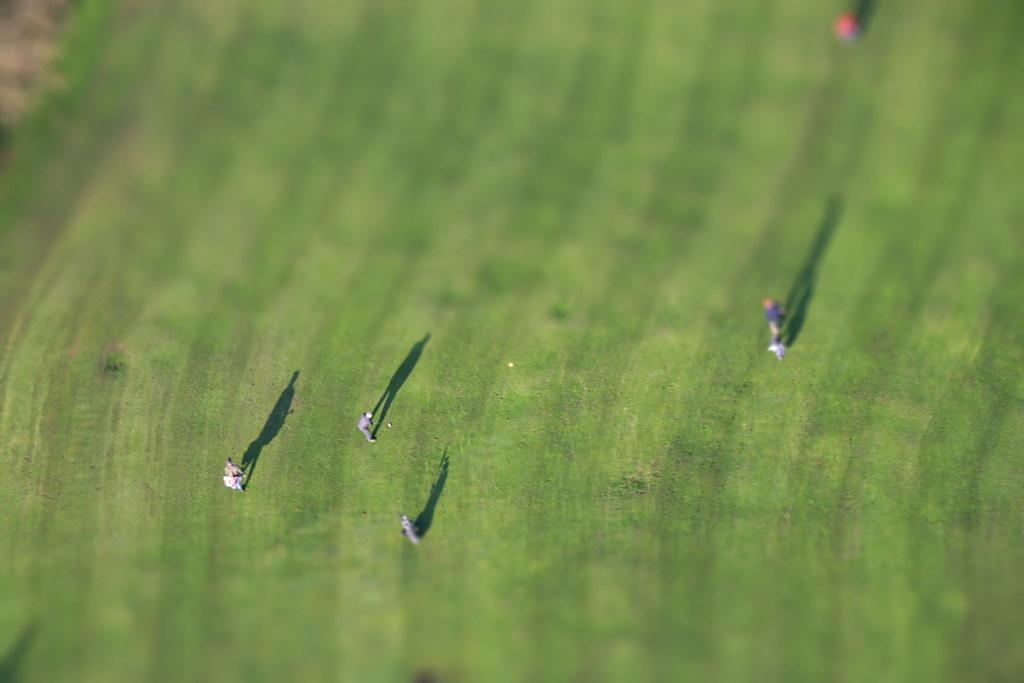 golf-tiltshift