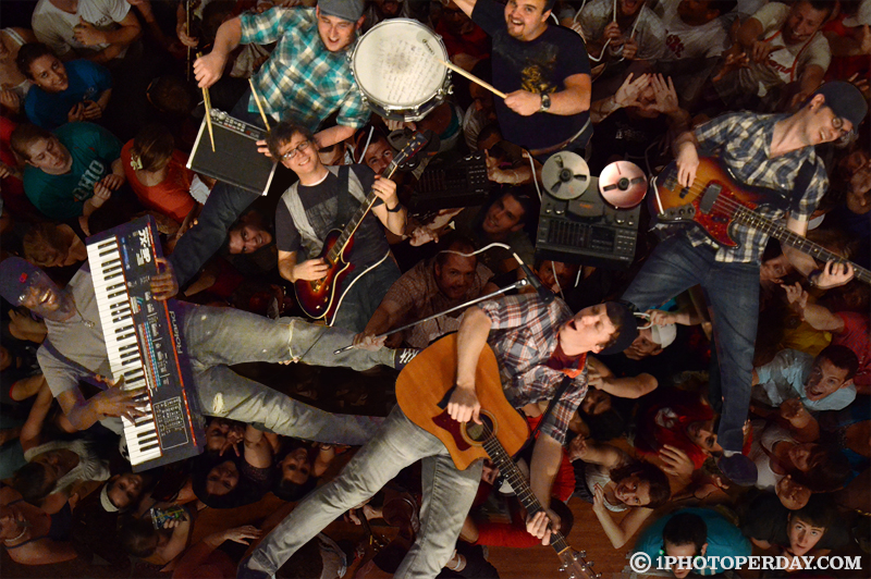 Jared Mahone Band Crowdsurfing