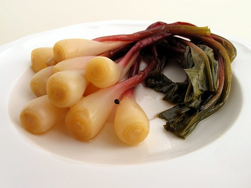 spicy pickled ramps