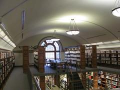 Mezzanine Level (TrueWolverine87) Tags: building downtown michigan library mezzanine saginaw hoytlibrary