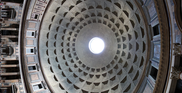 Rome. Inside of Pantheon