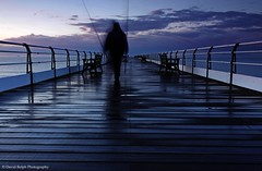 In Passing (David Relph) Tags: sea coast pier fisherman northeast saltburn saltburnbythesea saltburnpier northeastuk