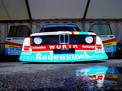 Rodenstock (Reynoldsorama) Tags: car racing turbo german bmw sportscar 320 paddock gr5 rodenstock e21 bcar 3car winkelhock