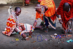 A Cultural Window (| HD |) Tags: africa people color colour 20d canon market kenya vibrant culture craft jewellery fabric hd tribe craftsman darwish hamad masai picturecollection vwc kuwaitvoluntaryworkcenter wwwhamaddarwishcom