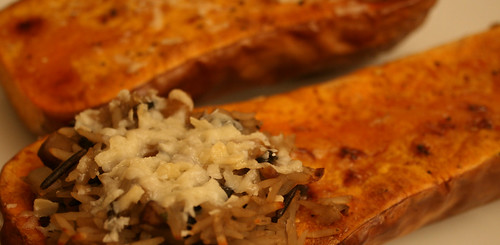 Stuffed Butternut Squash 1