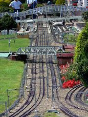 Minature Rail tracks, Madurodam