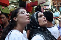 Mother & Doughter (cavalex) Tags: people look market mother medina relatives doughter kopftuch