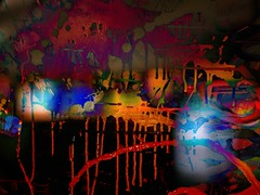 Moody Paint (Tim Noonan) Tags: lighting colour art dark painting acrylic abstractart award manipulation canvas drip splash mosca abstractartaward proudshopper stealingshadows maxfudge awardtree maxfudgeexcellence maxfudgeawardandexcellencegroup daarklands