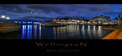 My Wellington, A Little Bit Late, A Little Bit Wide (Peter Kurdulija) Tags: ocean new bridge blue light sea sky panorama cloud reflection composite night canon four harbor boat 2000 cityscape waterfront stitch image gray shed lagoon powershot zealand wellington boatshed a710 kurdulija theunforgettablepictures
