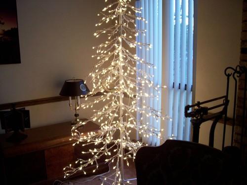 Christmas tree inside