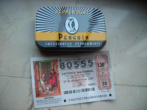 Lotería bitacorera 2007