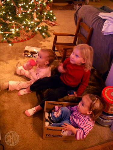the cousins watch a show