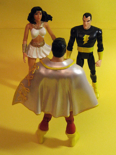 Captain Marvel, Black Adam and Isis