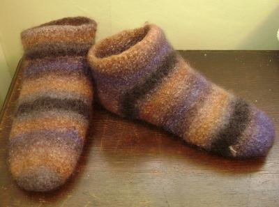 Fuzzy Feet Soy Wool Stripes