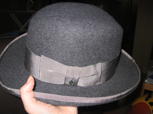 Finished Homburg... yipeee!