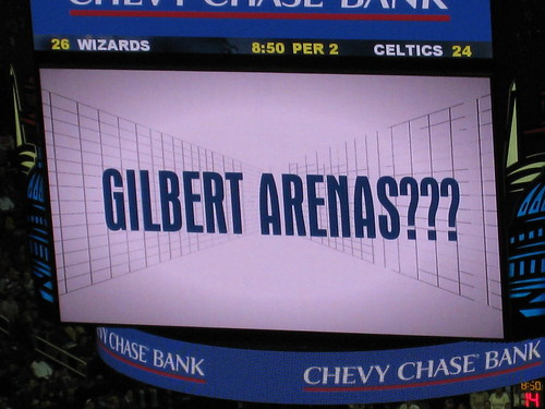 Gilbert Arenas in Boston?