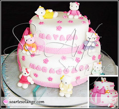 Bolo Decorado - Hello Kitty (So Arte - Solange) Tags: hello cake lembrana designer chocolate kitty cupcake infantil brownie bolo casamento recife bichos festa aniversrio doce trufa bodas comemorao pirulito nascimento maternidade eventos diadosnamorados parabns celebrar decorado diadascrianas sugarcraft bolodeaniversrio minibolo pastaamericana bolodecorado docedecorado boloestrela bolohellokitty kittyestrelashello