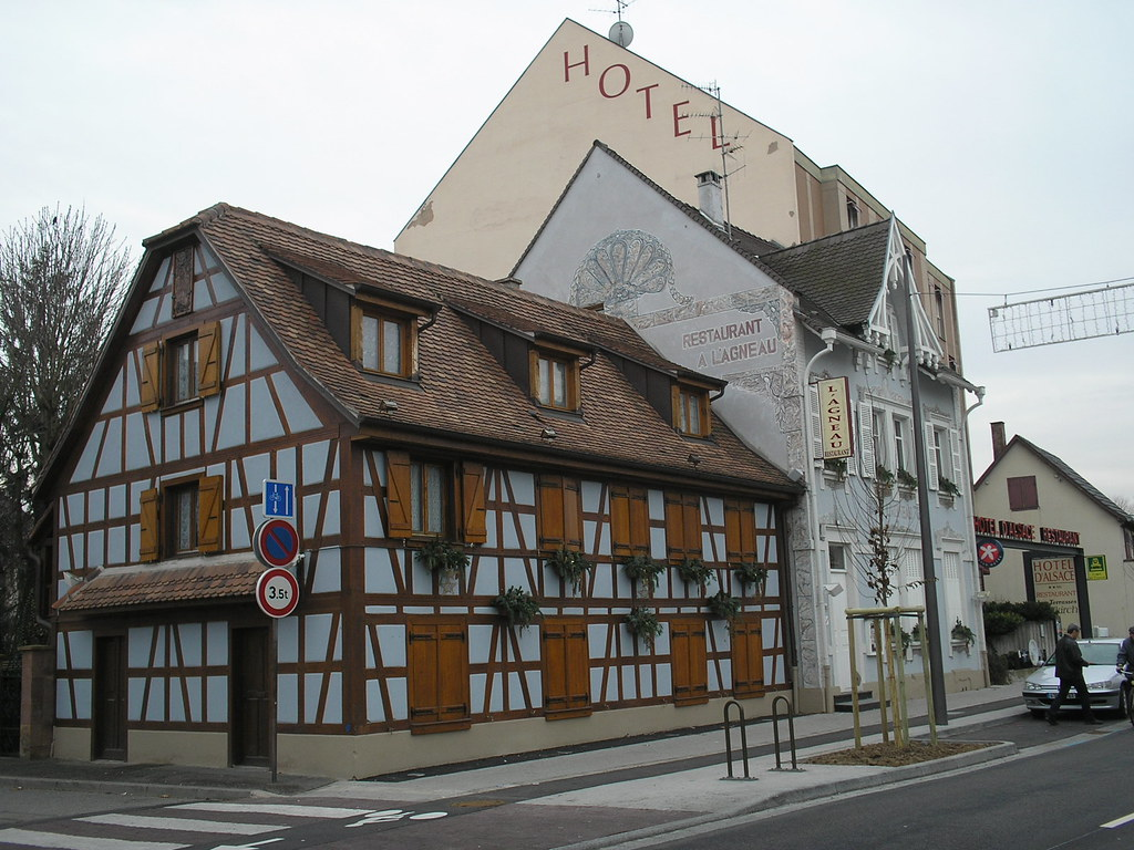 Hotel d'Alsace and Restaurant a l'Agneau
