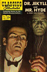 Classics Illustrated - No.13 - Dr. Jekyll And Mr. Hyde - 1968 (DaddyNewt) Tags: comics comicbook comicbooks 1968 robertlouisstevenson classicsillustrated no13 drjekyllandmrhyde daddynewt