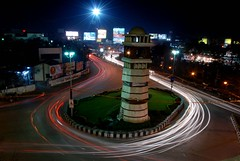 Clocktower at Raipur (Ice Cubes) Tags: street india ice night lights nikon streetlights icecubes cubes jaspreet chhattisgarh raipur nikond80 jaspreetbhatia icecubesservices icecubesimages icecubesphotography