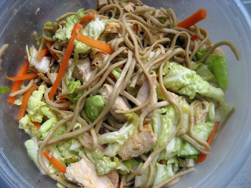 buckwheat soba sesame noodles