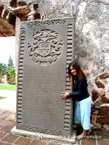 me and a dutch engraved stone