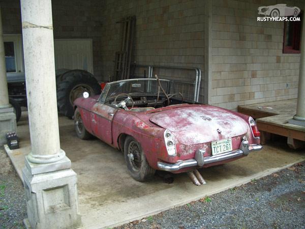 1964 MGB parts car