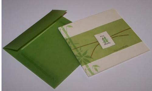 Bamboo Wedding Invitation TWI064