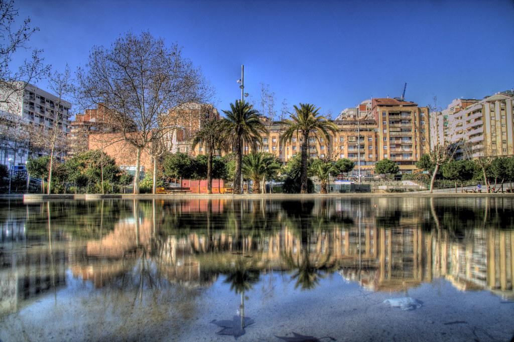 Park in Barcelona