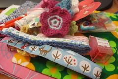 Mail day (Kooka_) Tags: ribbons mail crochet craft crafty trim mailday fabrics tecidos kooka fitas crafties gales kookalicious