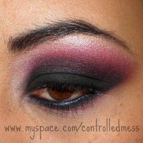 model eye makeup. eye makeup: