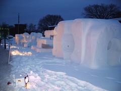 Sculptures sur neige en série (joadc) Tags: de québec carnaval 2008