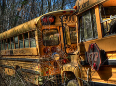 explore (Alan Smythee) Tags: abandoned interestingness explore schoolbus hdr bratanesque thankyouverymuchforalltheviewscommentsfavorites
