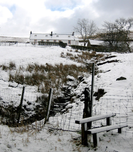 Fairlieward cottage in snow