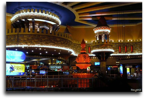 Lobby of Excalibur Casino & Hotel by FoNgEtZ