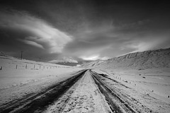 At the end of the road (Andri Elfarsson) Tags: pictures road desktop camera trip travel winter wallpaper vacation sky blackandwhite bw white holiday snow black art ice apple nature canon dark landscape island mono frozen iceland highresolution frost skies imac photographer darkness photos quality fineart north fine large freezing frosty monochromatic full size resolution fullresolution l 40 northern wintersnow 5k icelandic andri 17mm svarfadardalur frozenice winterfrost freedesktop freewallpaper anawesomeshot landscapephotographer theunforgettablepictures 1740canon elfarsson andrielfarsson wallpaperbw ljosmynd canon17mm40l desktopbw desktopblackandwhite wallpaperblackandwhite imac5k