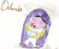 Orlando ritratto da Gioconda