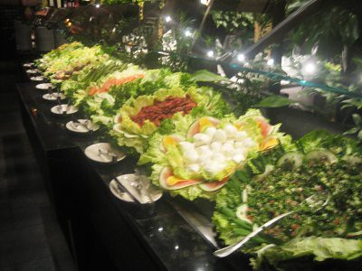 Salad Bar at Fogo de Chao