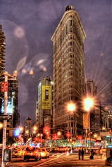 Flatiron Building (sunsurfr) Tags: nyc newyorkcity urban newyork building architecture skyscraper downtown manhattan spiderman landmark structure madison metropolis fifthavenue gotham madisonsquarepark flatiron hdr buidlings madisonsquare 23rdstreet citysape dailybugle theflatiron diamondclassphotographer flickrdiamond