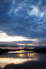 Sunset (adthely) Tags: sunset sky clouds sunrise nikon sarawak kuching d40x sarawakborneo