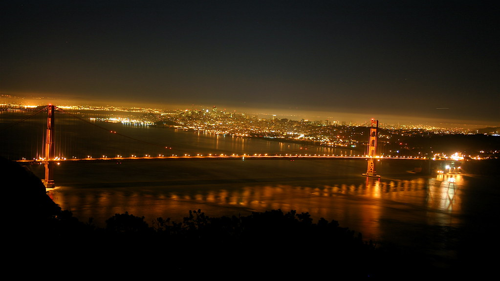 Golden Gate Bridge Pre-dawn