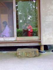 Reflection (anis5702) Tags: bukittinggi japanesetea